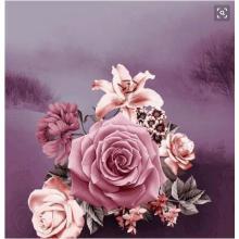 3D печати постельных принадлежностей лист Роза ткань для одежды ширина 230 см