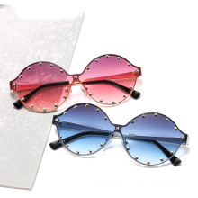 rivet ocean color sun glasses 2020 new arrivals vintage fashion custom designer luxury shades metal sunglasses women men 36002