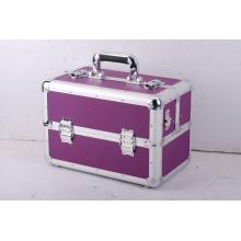 Proveedor de China de caja de herramientas de peluquero de aluminio estilo maletín