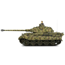 Rei tigre alemão tanque 1: 24 tanque de combate RC