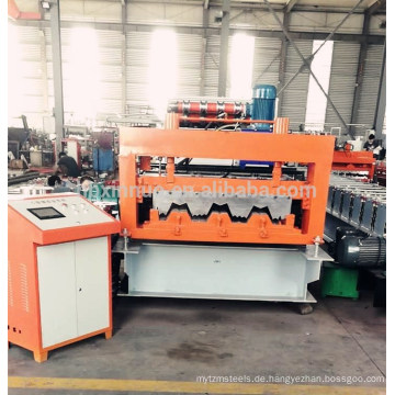Hebei Xinnuo 915 Boden Deck Dachbahn Roll Formmaschine