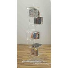 Support d'affichage de CD acrylique