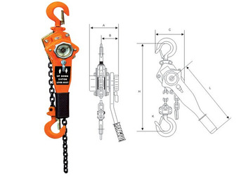 VL Series lever hoist block
