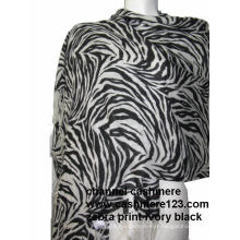 Chêne en cachemire Zebra Print