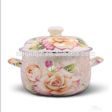 high quality royal enamel casserole cookware