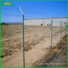 Low cost iso certificated high quality chain link fence made in china