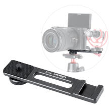 Ulanzi PT-5 Vlog Microphone Mount Adapter Extend Port for Sony A6400 A6500 A6300 Vlog Tripod Mount