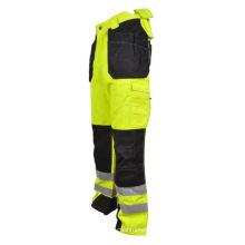 Pantalones de alta visibilidad Pantalones reflectantes de trabajo de seguridad.