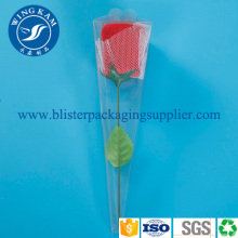 Plástico Flexible transparente plegable embalaje para flores