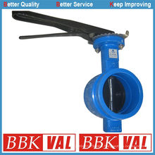 Groove End Butterfly Valve Groove Connection