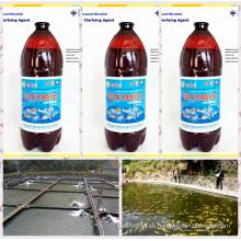 Algas marinas bio preparados orgánicos utilizados para purificar el agua de acuicultura