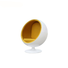 Fibra de vidrio Funky miniatura Egg Ball Lounge Chair