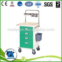 BDT216 ABS Hospital Crash Cart Emergency Trolley