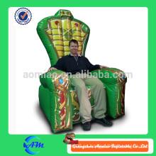 Venta caliente Rey inflable del rey para las ventas