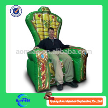 Vente chaude gonflable King Throne pour vente