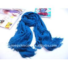 Равнина сплошной цвет акриловые шарф