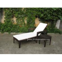 Meubles de jardin/mobilier / meubles de rotin meubles/osier mobilier/Patio Sun Bed (5014)
