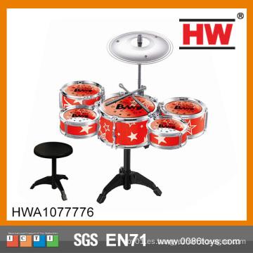 Los niños populares juegan el tambor profesional determinado Juguete el tambor plástico