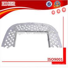 mesa de brasero de aluminio por encargo