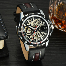 Oem mechanical automatic watch men casual style