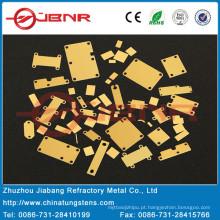 Cerâmicas da parede Metal pacote pacote Cuw ou Bases Cu/Mo