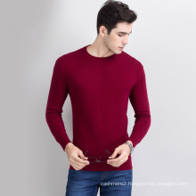 customized high quality computer knitting pullover sweater men