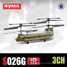 Simulador de helicóptero de avión SYMA S026G