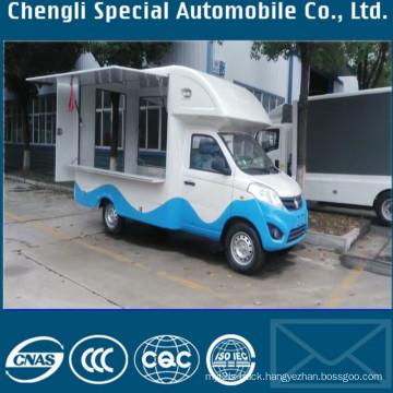 Mobile Ice Cream Food Sales Truck Kitchen Truck