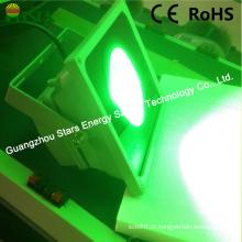 Luz de inundação do diodo emissor de luz da paisagem do diodo emissor de luz com cor verde