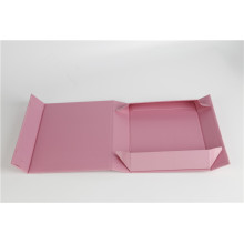 Caja de paquete de regalo de barra de chocolate plegable dura