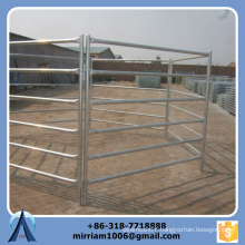 1800 mm * 2100 mm Heavy duty 6 bars galvanized sheep panels
