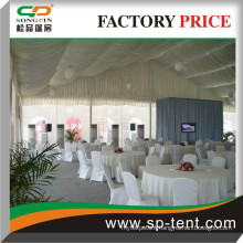marquee party wedding tent 15mx30m with interior linings for outdoor wedding party events
