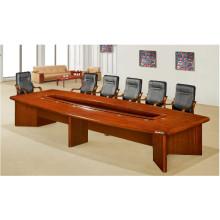 Tabela durável folheada da madeira maciça antiga do MDF para a sala de reunião