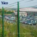 Preço de fábrica PVC Revestido Cerca de malha quadrada Soldada