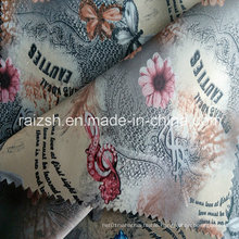 Colorful 100% Polyester Taffeta Fabric with Customized Printings