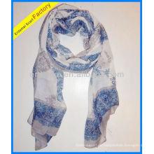 Леди принт полиэстер лапы шарф