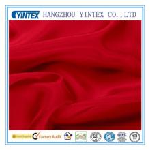 Tela de seda de mora roja al por mayor