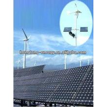 sistema de energía solar y viento