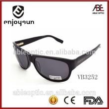 Marcas de óculos de sol de alta qualidade dos homens com dobradiça de metal por atacado China