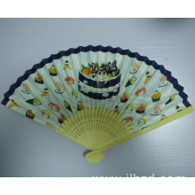 New boutique fashional printing design wooden fans