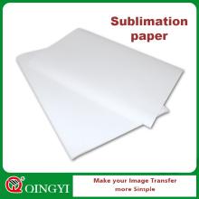 Papel de transferência térmica da sublimação da impressão de Digitas para o fato