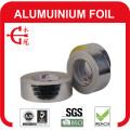 Cinta de papel de aluminio con revestimiento y cinta de papel de aluminio plateado