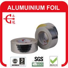 Fita de folha de alumínio com forro e fita de folha de alumínio de prata