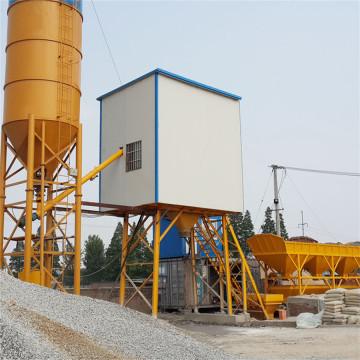 Con planta mezcladora de concreto de rendimiento confiable