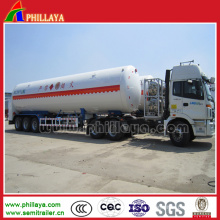 Gasbehälter-Träger-halb Anhänger-Tankwagen-Vorratsbehälter