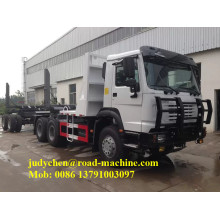 Sinotruk HOWO 6 * 4 Gỗ / Log Carrier Truck