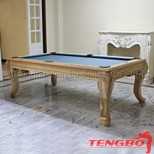 Modern style solid wood TB-US0005 dinner pool table