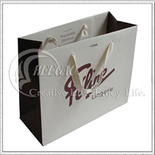 New Fashion Kraft Paper Shopping Bag (KG-PB054)