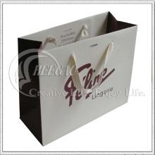 Novo saco de compras de papel kraft moda (kg-pb054)