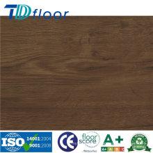 Superficie de madera rústica Suelo de vinilo PVC de alta calidad